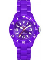 Buy Ice-Watch Ladies Ice-Solid Purple Small Watch online