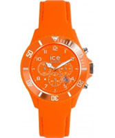 Buy Ice-Watch Mens Ice-Chrono Matte Fluo Orange Watch online