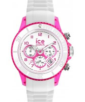Buy Ice-Watch Ladies White and Pink Ice-Party Watch online