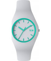 Buy Ice-Watch White and Turquoise Ice-Crazy Watch online