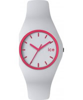Buy Ice-Watch White and Pink Ice-Crazy Watch online