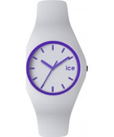 Buy Ice-Watch White and Purple Ice-Crazy Watch online