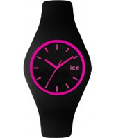 Buy Ice-Watch Black and Pink Ice-Crazy Watch online