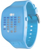 Buy 01 THE ONE Ibizia Ride Light Blue Watch online
