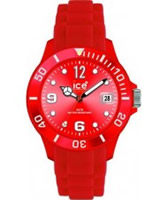 Buy Ice-Watch Sili-Red Sunray Dial Watch online