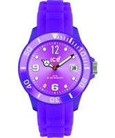 Buy Ice-Watch Sili-Purple Sunray Dial Watch online