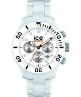 Buy Ice-Watch Mens Chrono White Plastic Watch online