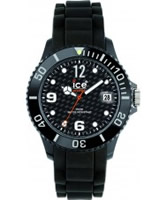 Buy Ice-Watch Sili Black Small Carbon Dial Silicon Watch online
