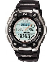 Buy Casio Mens Dual Display Thermosensor Watch online