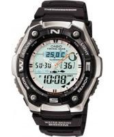 Buy Casio Mens Dual Display Thermosensor Watch online