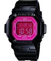 Buy Casio Ladies Baby-G Pink Black Watch online