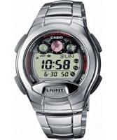 Buy Casio Mens Digital Silver Watch online