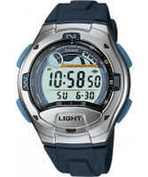 Buy Casio Mens Illuminator Grey Black Digital Watch online