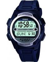 Buy Casio Mens Blue Resin Strap Digital Referee Watch online
