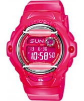 Buy Casio Ladies Baby-G Bright Pink Digital Watch online