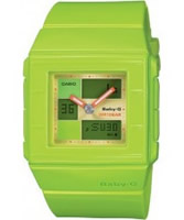 Buy Casio Baby-G Green Ana-Digi Watch online