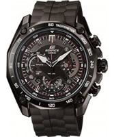 Buy Casio Mens Edifice Black Resin Strap Watch online