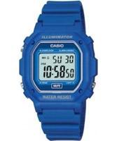 Buy Casio Mens Blue Digital Watch online