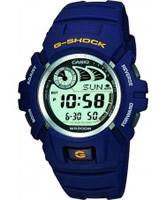 Buy Casio Mens G-Shock Digital Display Blue Watch online