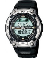 Buy Casio Mens Chronograph Dual Sports Watch online