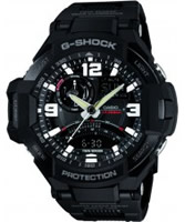 Buy Casio Mens G-Shock Black Compass Resin Strap Combi Watch online