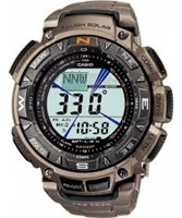 Buy Casio Mens Pro Trek Illuminator Tough Solar Watch online