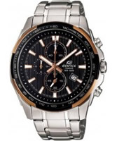 Buy Casio Edifice Chronograph with Rose Gold Details online