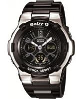 Buy Casio Ladies Baby-G Black Digital Watch online