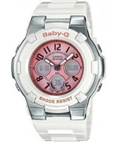 Buy Casio Ladies Baby-G Rubber Strap Watch online
