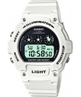 Buy Casio Mens White Chronograph Watch online