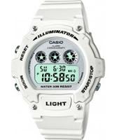 Buy Casio Mens White Chronograph Watch online