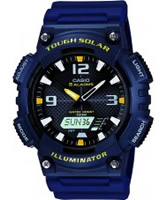 Buy Casio Mens Blue Watch online