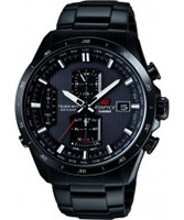 Buy Casio Mens Edifice Chronograph Radio Controlled Solar Steel Bracelet Watch online