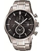Buy Casio Mens Edifice Silver Steel Bracelet Watch online