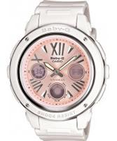Buy Casio Ladies Baby-G White Pink Watch online