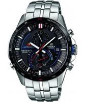 Buy Casio Mens Edifice Silver Chronograph Watch online