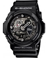 Buy Casio Mens G-Shock Black Watch online