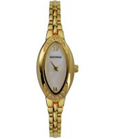 Buy Sekonda Ladies White Gold Stone Set Dress Watch online