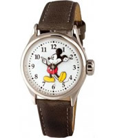 Buy Disney by Ingersoll Mens Mickey Mouse Grey Watch online