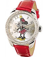 Buy Disney by Ingersoll Ladies Minnie Mouse Red Watch online