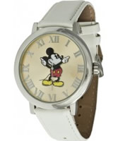 Buy Disney by Ingersoll Ladies Mickey White Watch online