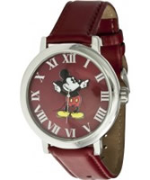 Buy Disney by Ingersoll Ladies Mickey Red Watch online