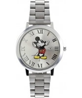 Buy Disney by Ingersoll Mens Mickey Silver Watch online