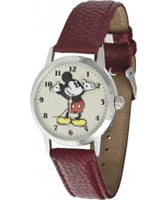 Buy Disney by Ingersoll Mens Mickey Red Watch online
