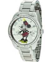 Buy Disney by Ingersoll Ladies Minnie Mouse Silver Watch online