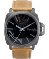 Buy Bench Mens Black Brown Watch online