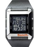 Buy Bench Mens LCD Grey Strap Watch online