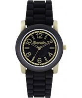 Buy Bench Ladies Black Silicone Watch online