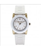 Buy Bench Ladies White Silicone Watch online