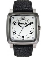 Buy Bench Mens Black Leather Watch online